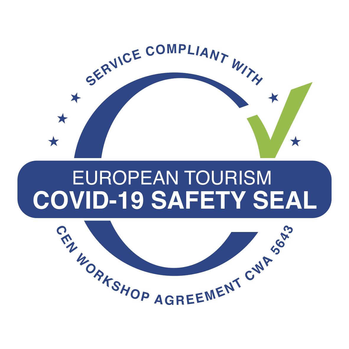 WTTC safe travels logo